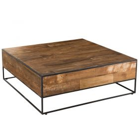 Table basse carrée teck 80cm SWAN d-bodhi