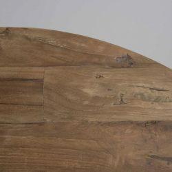Table basse teck massif industriel 60cm SWIN d-bodhi