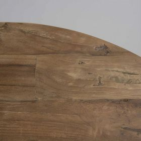Table repas industrielle teck et métal 130cm SWIN d-bodhi